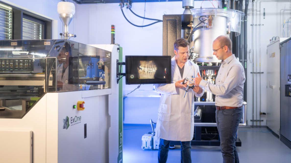 Fraunhofer desenvolvendo tecnologias de impressão 3D para aplicações médicas